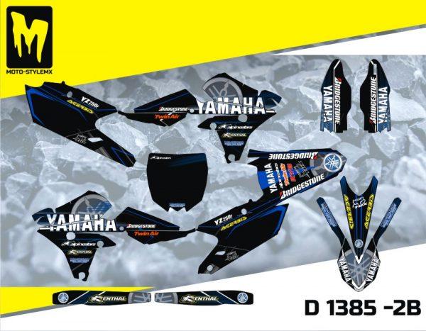 D 1385 -2B Yamaha YZf 250 '14-'18