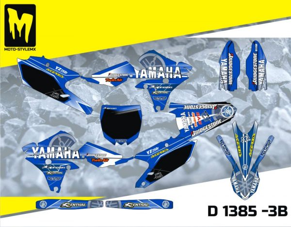 D 1385 -3B Yamaha YZf 250 '14-'18