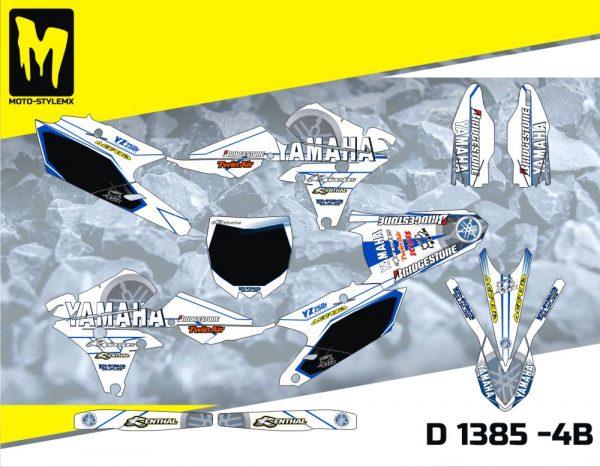 D 1385 -4B Yamaha YZf 250 '14-'18