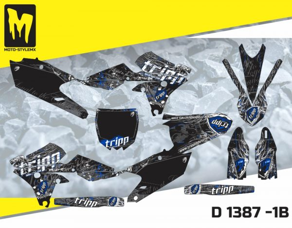D 1387 -1B Yamaha YZf 250 '14-'18