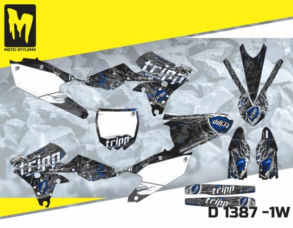 D 1387 -1W Yamaha YZf 450 '14-'17