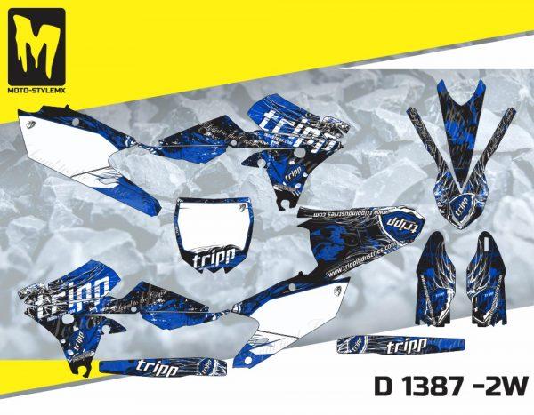 D 1387 -2W Yamaha YZf 450 '14-'17