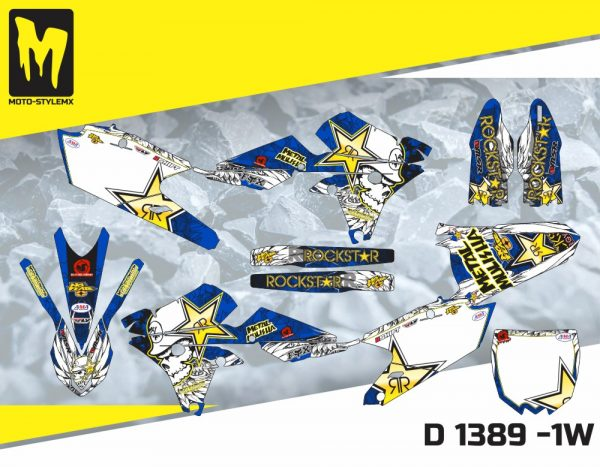 D 1389 -1W Yamaha YZf 450 '14-'17