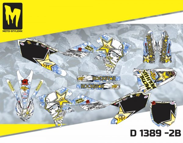 D 1389 -2B Yamaha YZf 250 '14-'18
