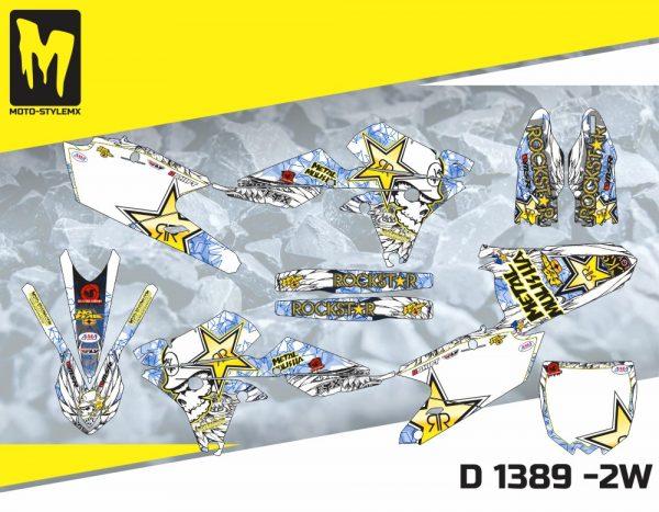 D 1389 -2W Yamaha YZf 450 '14-'17