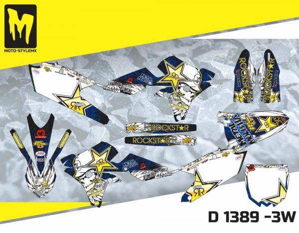 D 1389 -3W Yamaha YZf 450 '14-'17