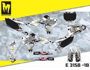 E 3158 -1B Yamaha YZf 250 '14-'18