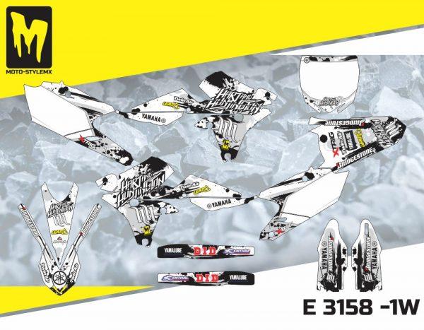 E 3158 -1W Yamaha YZf 450 '14-'17