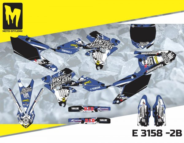 E 3158 -2B Yamaha YZf 250 '14-'18