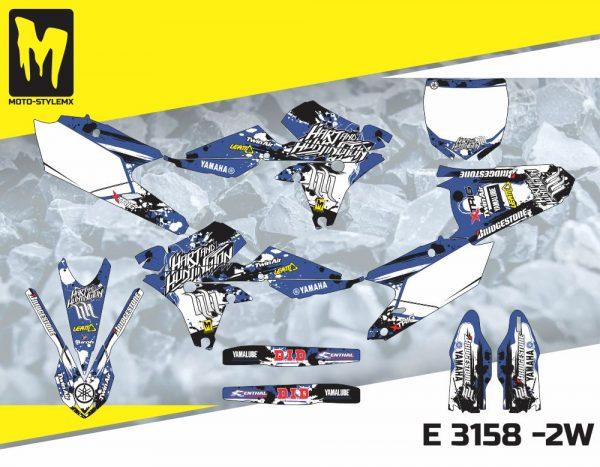 E 3158 -2W Yamaha YZf 450 '14-'17