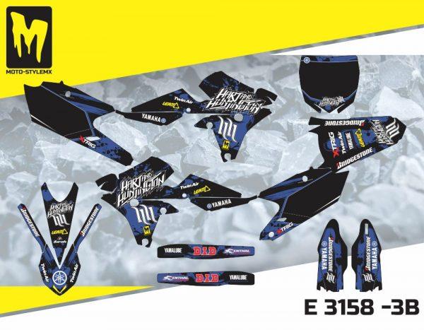 E 3158 -3B Yamaha YZf 250 '14-'18