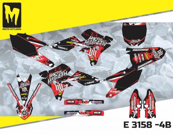 E 3158 -4B Yamaha YZf 250 '14-'18