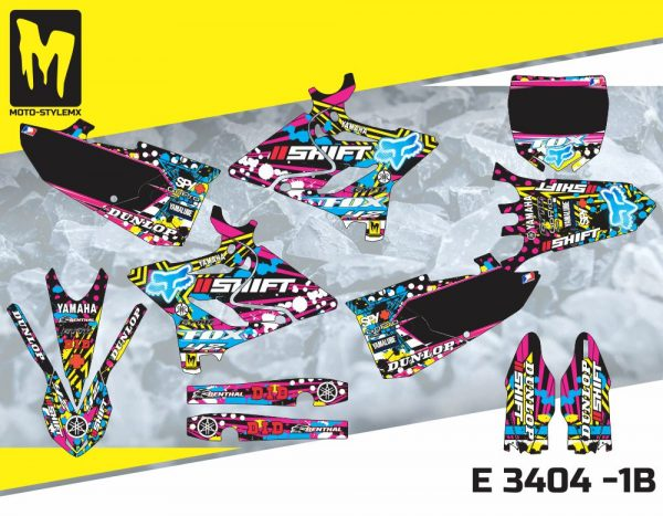 E 3404 -1B Yamaha YZ 125-250 '15-'19