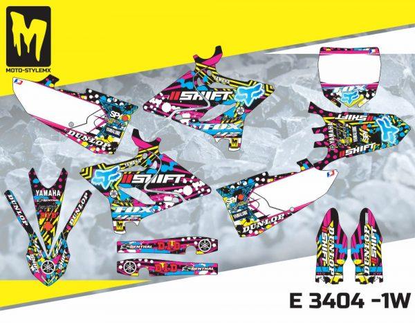 E 3404 -1W Yamaha YZ 125-250 '15-'19