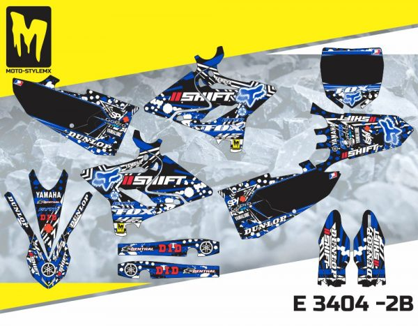 E 3404 -2B Yamaha YZ 125-250 '15-'19