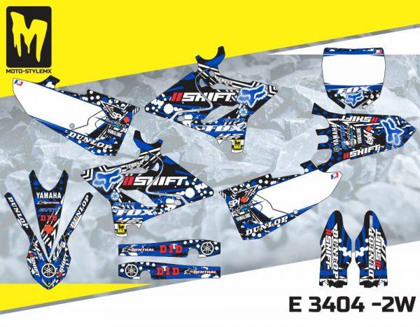 E 3404 -2W Yamaha YZ 125-250 '15-'19