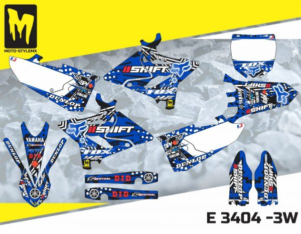 E 3404 -3W Yamaha YZ 125-250 '15-'19