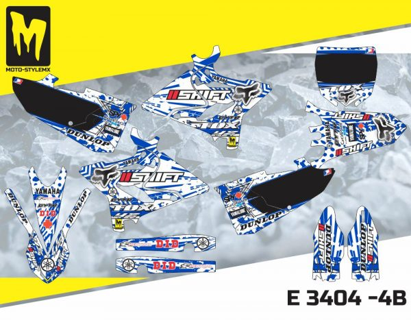 E 3404 -4B Yamaha YZ 125-250 '15-'19