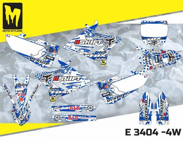 E 3404 -4W Yamaha YZ 125-250 '15-'19
