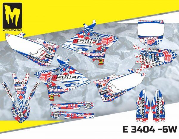 E 3404 -6W Yamaha YZ 125-250 '15-'19