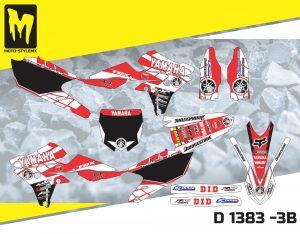 D 1383 -3B Yamaha YZf 250 '14-'18