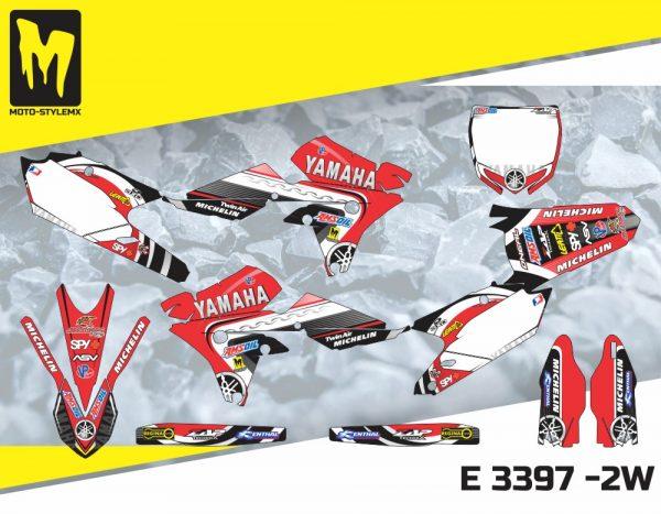 E 3397 -2W Yamaha YZf 450 '14-'17