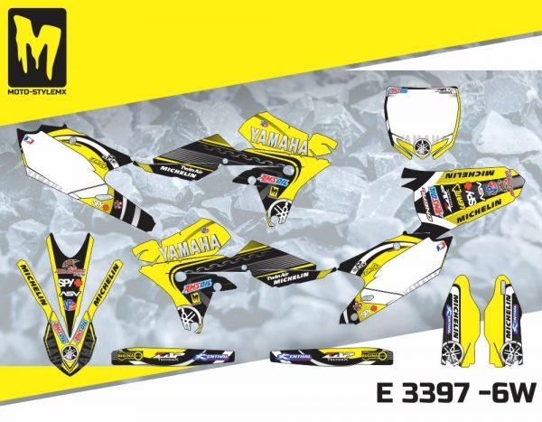 E 3397 -6W Yamaha YZf 450 '14-'17