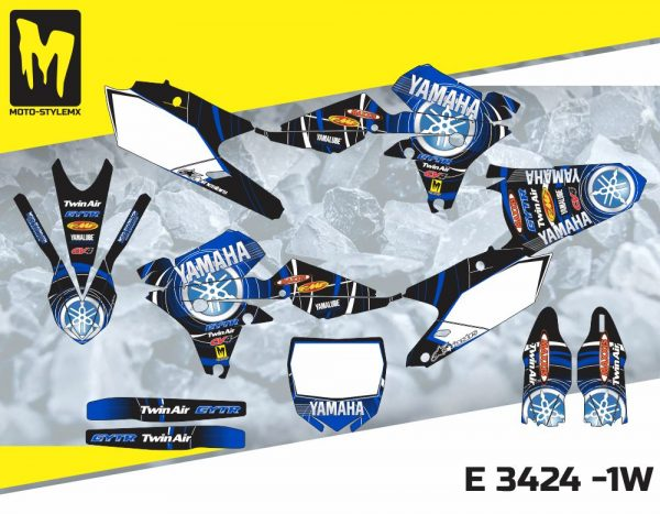 E 3424 -1W Yamaha YZf 450 '14-'17