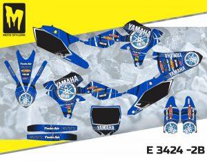 E 3424 -2B Yamaha YZf 250 '14-'18
