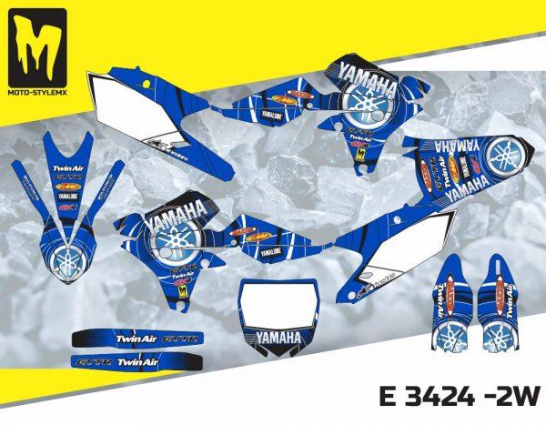 E 3424 -2W Yamaha YZf 450 '14-'17
