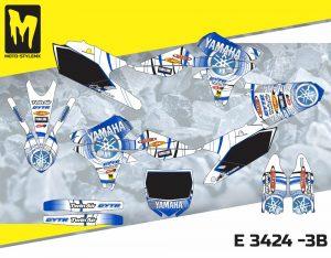 E 3424 -3B Yamaha YZf 250 '14-'18
