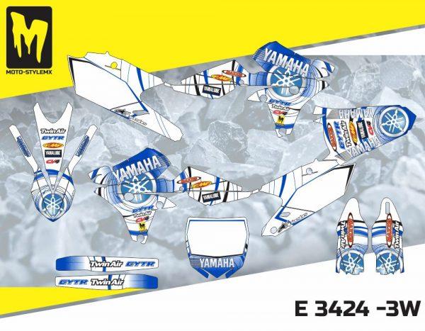 E 3424 -3W Yamaha YZf 450 '14-'17