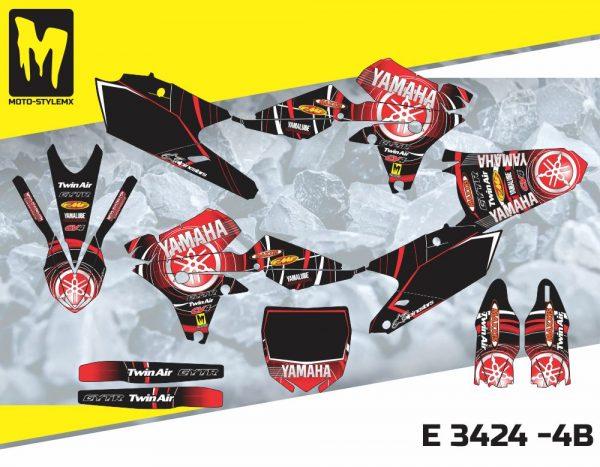 E 3424 -4B Yamaha YZf 250 '14-'18