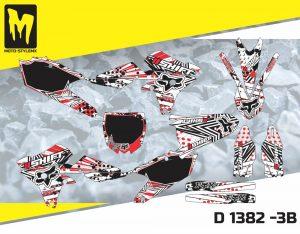 D 1382 -3B Yamaha YZf 250 '14-'18