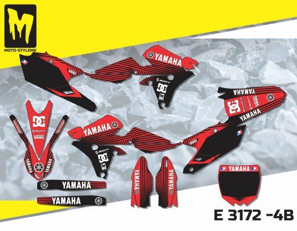 E 3172 -4B Yamaha YZf 250 '14-'18