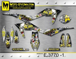 Husqvarna TE 449 - 511 '11-'13 decal kit