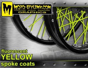 Fluorescent Yellow Spoke Coats