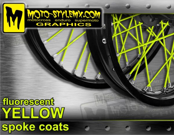 Fluorescent Yellow Spoke Coats