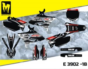 E 3902 -1B Yamaha YZ 125 02-14 UFO RESTYLED