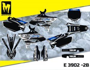 E 3902 -2B Yamaha YZ 125 02-14 UFO RESTYLED