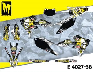 E 4027 -3B Yamaha WRf 250 '15-'18