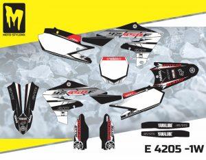 E 4205 -1W Yamaha YZf 450 '18-'20