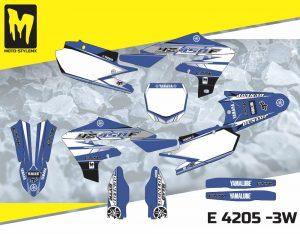E 4205 -3W Yamaha YZf 450 '18-'20