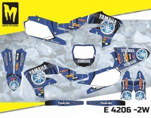 E 4206 -2W Yamaha YZf 450 '18-'20