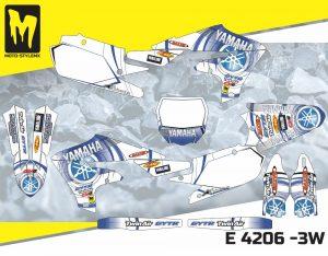 E 4206 -3W Yamaha YZf 450 '18-'20