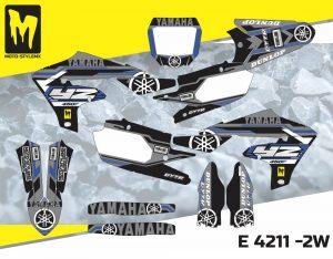 E 4211 -2W Yamaha YZf 450 '18-'20