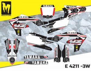 E 4211 -3W Yamaha YZf 450 '18-'20