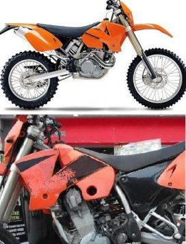 KTM EXC 450-525 '03