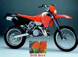 KTM EXC Series '98-'02