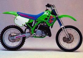 Kawasaki KX 125-250 '90-'91
